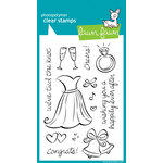 Lawn Fawn - Clear Acrylic Stamps - Happily Ever After