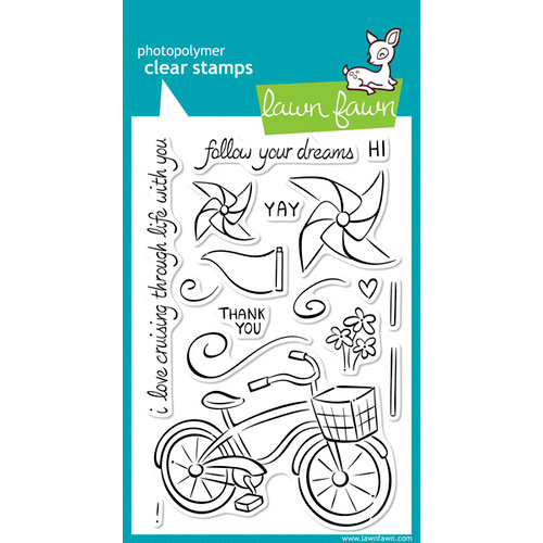 Lawn Fawn - Clear Acrylic Stamps - Cruising Through Life