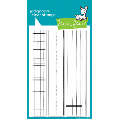 Lawn Fawn - Clear Acrylic Stamps - Schoolhouse Backdrops