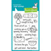 Lawn Fawn - Clear Acrylic Stamps - On the Mend