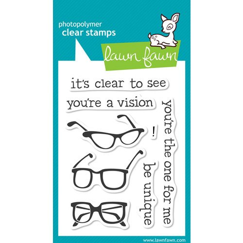 Lawn Fawn - Clear Acrylic Stamps - Clear to See