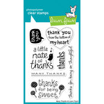 Lawn Fawn - Clear Acrylic Stamps - Many Thanks