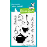 Lawn Fawn - Clear Acrylic Stamps - My Cup of Tea