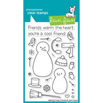 Lawn Fawn - Clear Acrylic Stamps - Making Frosty Friends