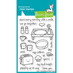 Lawn Fawn - Clear Acrylic Stamps - Love 'n Breakfast