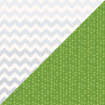 Lawn Fawn - Bright Side Collection - 12 x 12 Double Sided Paper - Silver Lining