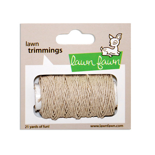 Lawn Fawn - Lawn Trimmings - Hemp Cord Spool - Natural