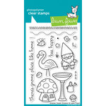 Lawn Fawn - Clear Acrylic Stamps - Gnome Sweet Gnome