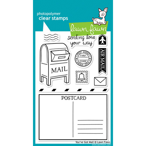 Lawn Fawn - Clear Acrylic Stamps - You've Got Mail