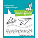 Lawn Fawn - Clear Acrylic Stamps - Flying By