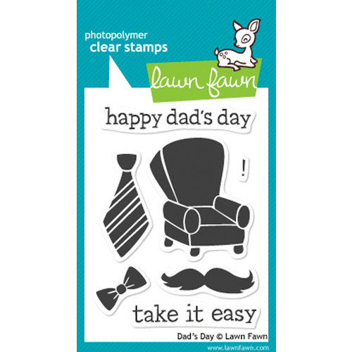 Lawn Fawn - Clear Acrylic Stamps - Dad's Day