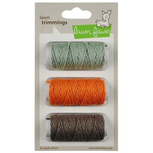 Lawn Fawn - Lawn Trimmings - Hemp Cord Spool - 3 Pack - Retro