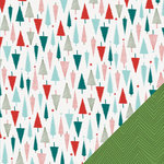 Lawn Fawn - Fa-La-La Collection - Christmas - 12 x 12 Double Sided Paper - O Christmas Tree