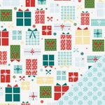 Lawn Fawn - Fa-La-La Collection - Christmas - 12 x 12 Double Sided Paper - Oh What Fun