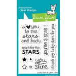 Lawn Fawn - Clear Acrylic Stamps - Lucky Stars