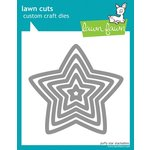 Lawn Fawn - Lawn Cuts - Die Cutting Template - Puffy Star Stackables