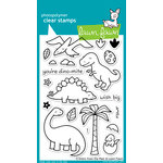 Lawn Fawn - Clear Acrylic Stamps - Critters from the Past