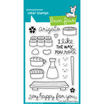 Lawn Fawn - Clear Acrylic Stamps - Lets Roll