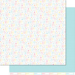 Lawn Fawn - Hello Sunshine Collection - 12 x 12 Double Sided Paper - Dawn