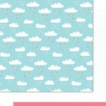 Lawn Fawn - Hello Sunshine Collection - 12 x 12 Double Sided Paper - Skyler