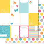 Lawn Fawn - Hello Sunshine Collection - 12 x 12 Double Sided Paper - Aurora