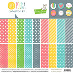 Lawn Fawn - Lets Polka Collection - 12 x 12 Collection Kit