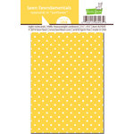 Lawn Fawn - Lawn Fawndamentals - Polka Dot Notecards - Sunflower