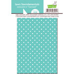 Lawn Fawn - Lawn Fawndamentals - Polka Dot Notecards - Mermaid