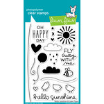 Lawn Fawn - Hello Sunshine Collection - Clear Acrylic Stamps