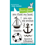 Lawn Fawn - Clear Acrylic Stamps - Float My Boat