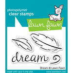 Lawn Fawn - Clear Acrylic Stamps - Dream