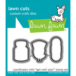 Lawn Fawn - Lawn Cuts - Dies - Get Well Soon