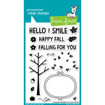 Lawn Fawn - Sweater Weather Collection - Clear Acrylic Stamps