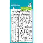 Lawn Fawn - Clear Acrylic Stamps - Joy to the Woods