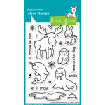 Lawn Fawn - Clear Acrylic Stamps - Critters in the Arctic