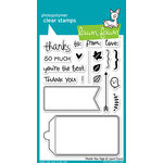 Lawn Fawn - Clear Acrylic Stamps - Thank You Tags