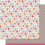 Lawn Fawn - Sweater Weather Collection - 12 x 12 Double Sided Paper - Breezy