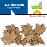 Lawn Fawn - Sweater Weather Collection - Wood Veneer Pieces - Fall Leaves