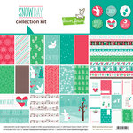 Lawn Fawn - Snow Day Collection - Christmas - 12 x 12 Collection Kit