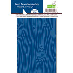 Lawn Fawn - Woodgrain Notecards - Navy Woodgrain