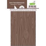 Lawn Fawn - Woodgrain Notecards - Walnut Woodgrain