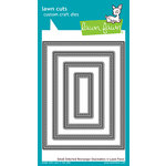 Lawn Fawn - Lawn Cuts - Dies - Small Stitched Rectangle Stackables
