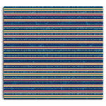 MBI - 12 x 12 Post Bound Album - 20 Top Loading Pages - Stripes and Dashes