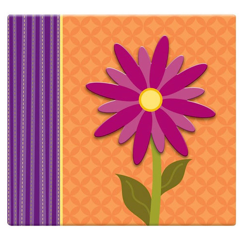 MBI - 12 x 12 Post Bound Album - 20 Top Loading Pages - 3D Flower