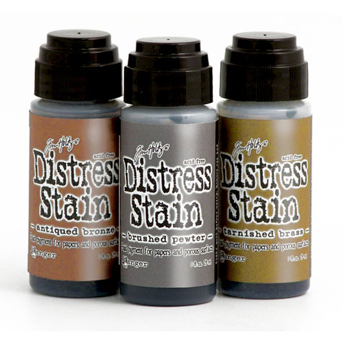 Ranger Ink - Tim Holtz - Distress Stain - Metallic Kit