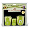 McGill - Paper Blossoms Collection - Paper Punch Set - Lily