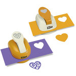 McGill - Paper Punch - Silhouettes and Shadow - Heart Set