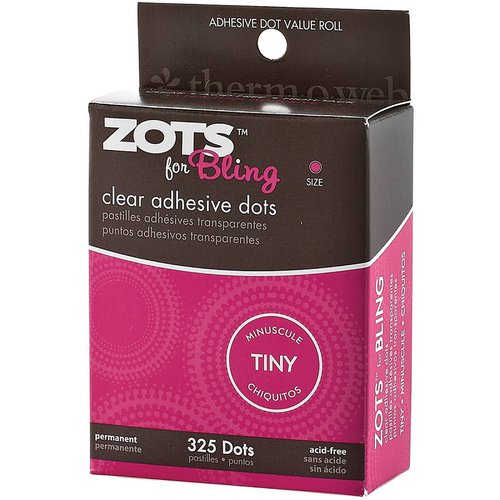Therm O Web - Zots for Bling - Tiny Clear Adhesive Dots