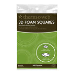 Therm O Web - Adhesive Foam Squares Combo Pack - White