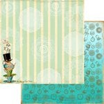Marion Smith Designs - Mad Tea Party Collection - 12 x 12 Double Sided Paper - Tea Party